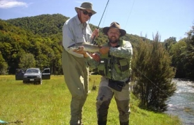 Pete Anderson (USA) & Peter Carty (NZ)